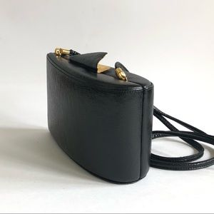 Vintage RODO Italy Lizard Leather Mini Crossbody